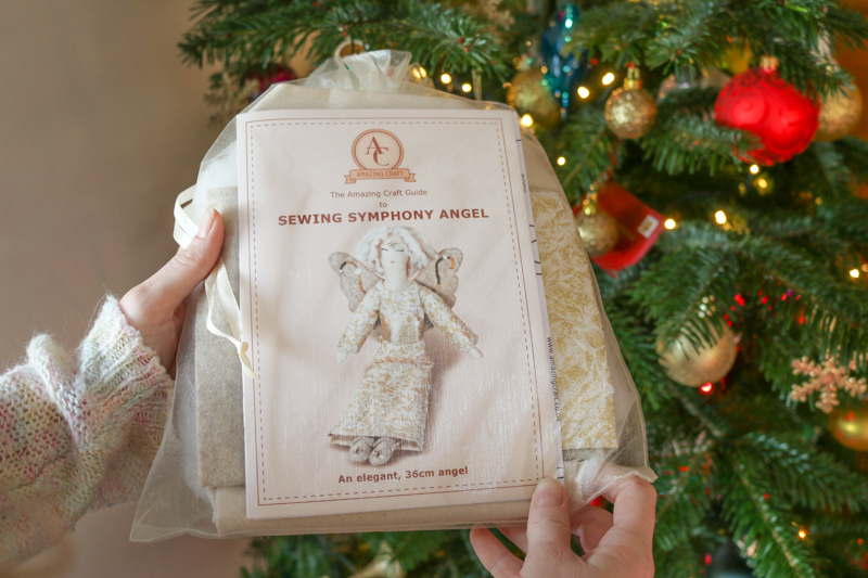 Sew-your-own Christmas Angel + win the pattern!